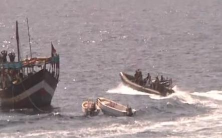 Navy Rescue Hostages