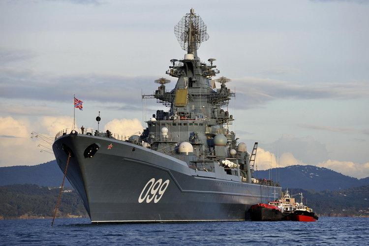 FRANCE-RUSSIA-ARMY-NUCLEAR-PYOTR VELIKY