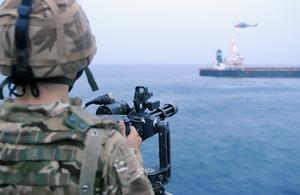 HMS MONMOUTH Releases MV Caravos Horizon