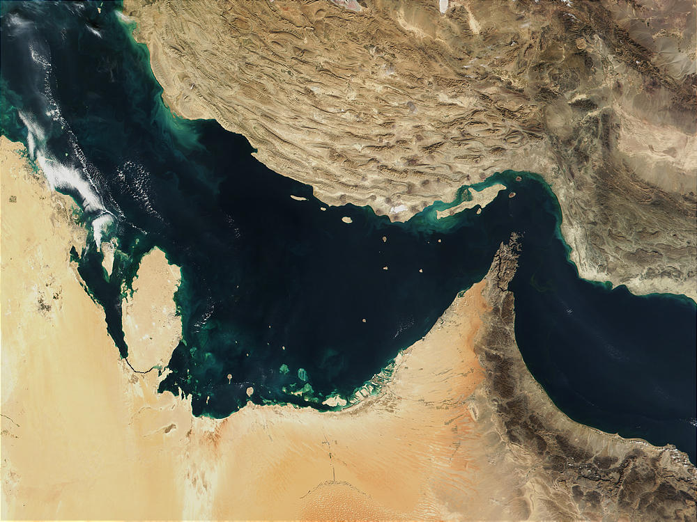 The Iranian Revolutionary Guard Corps (IRGC) detained an Indian ship carrying oil in the Persian Gulf.