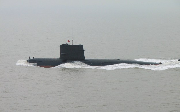 2005 Image of a Chinese PLAN Song-class submarine. Via Wikipedia