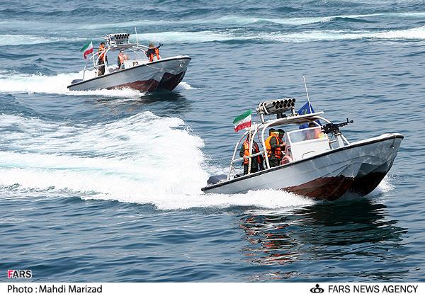 Iran patrol boats